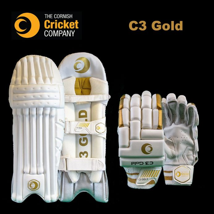 C3 Gold Pad and Glove Bundle
